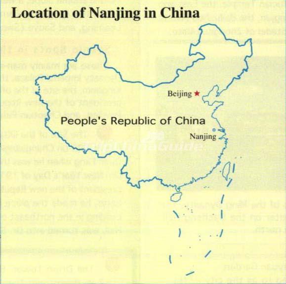 Nanjing In China Maps Of Nanjing