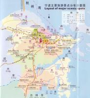 Ningbo Tourist Attractions Map