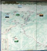 Wutai Mountain Map China