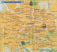 Maps of Shenyang