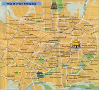 Chengde China Tourist Map Maps Of Chengde - Chengde map