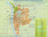 Travel Map of Dujiangyan City