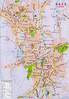 Urumqi Tourist Map