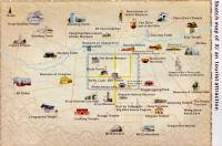 Xi'an Tourist Attractions Map
