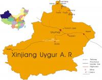 Maps of Xinjiang