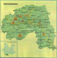 Maps of Xishuangbanna