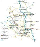 Yangshuo Tourist Places Map