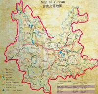 Maps of Yunnan