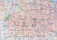 Zhengzhou Tourist Map