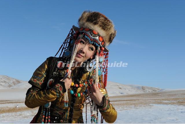 Mongolian Ethnic Headwear - Mongolian Ethnic Group Photos 8ab763edca3