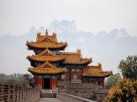 Temple in Mount Hua