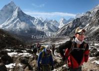 Hiking to Mt. Everest