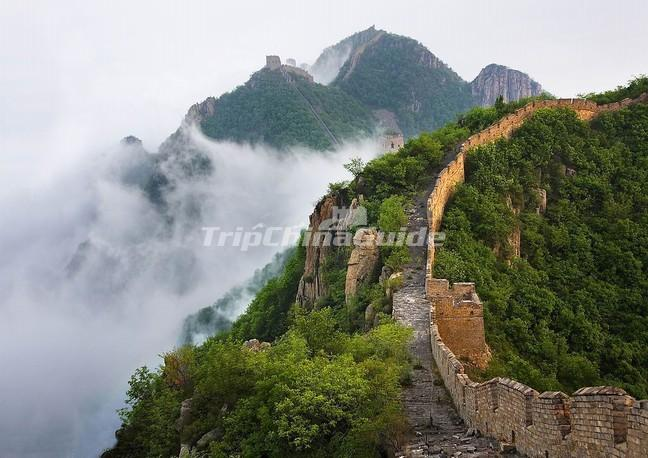 The Great Wall of Mutianyu Section