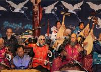The Band of Naxi Ancient Music in Old Town of Lijiang