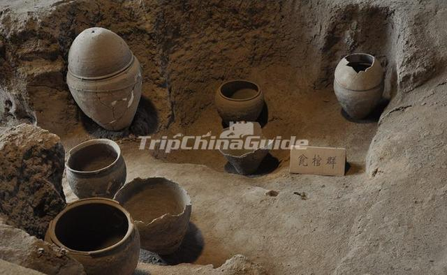 Ruins of Banpo Culture Neolithic Period
