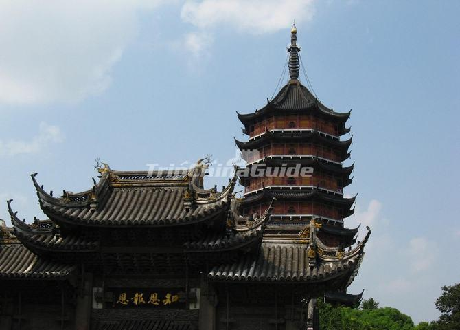North Temple Pagoda Building Suzhou