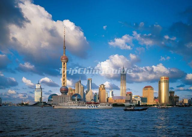 Spectacular Oriental Pearl TV Tower Shanghai