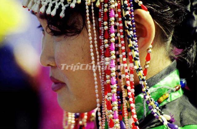 Oroqen Ethnic Headwear - Oroqen Ethnic Group Photos 65ab176af21