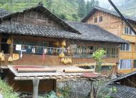 Folk House at Ping'an Village Longsheng