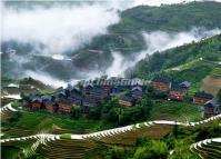 Ping'an Village Scenery Longsheng