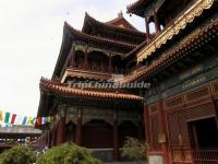 Yonghe Palace Temple Qing Dynasty