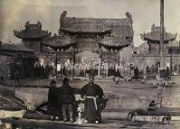 The Forbbiden City in Qing Dynasty