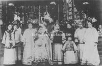 Old Photo of Empress Dowager Cixi Qing Dynasty