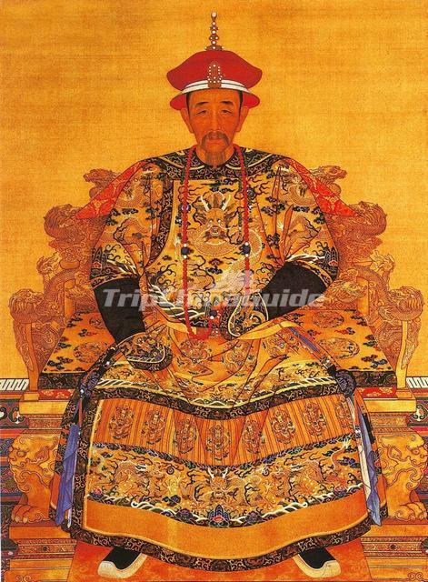 Build The Bear: Emperor Kang Xi Of Qing Dynasty Portrait