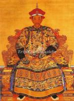 Emperor Kang Xi of Qing Dynasty Portrait