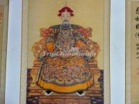 Emperor Kang Xi Court Dress Portrait Qing Dynasty
