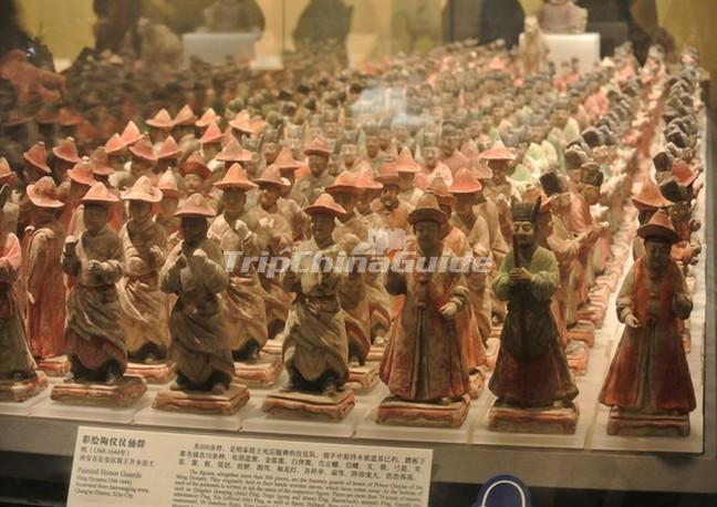 Shaanxi Provincial History Museum Exhibit