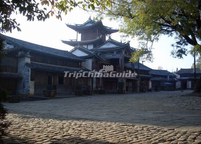 the square in shaxi old town shaxi ancient town photos dali shaxi rh tripchinaguide com