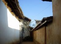 Shaxi Old Town Alley Yunnan