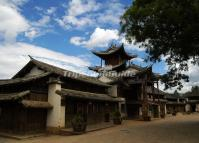 Shaxi Ancient Town Attractive Building