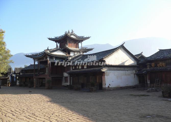 shaxi town building jianchuan yunnan china shaxi ancient town rh tripchinaguide com