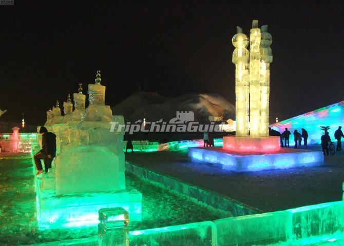 Shenyang International Ice and Snow Festival in China
