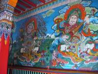 The Beautiful Frescos in Shouling Temple