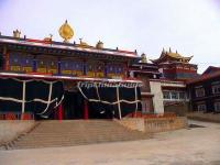 The Shouling Temple in Garzê County, Garzê Tibetan Autonomous Prefecture, Sichuan