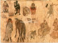 An Ancient Picture on Silk Road