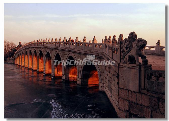 A Stone Bridge at Summer palace