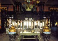 Inside the Hall of Happiness and Longevity in Beijing Summer Palace
