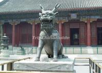Hall of Benevolence and Longevity in Summer Palace Beijing China