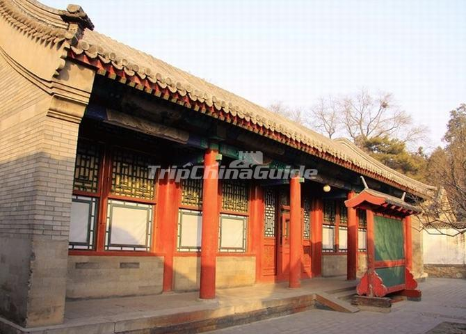 The Longevity Chamber in Beijing Summer Palace