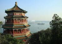 Tower of Buddhist Incense in Summer Palace Beijing