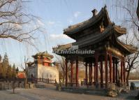 The Heralding Spring Pavilion at the Beijing Summer Palace