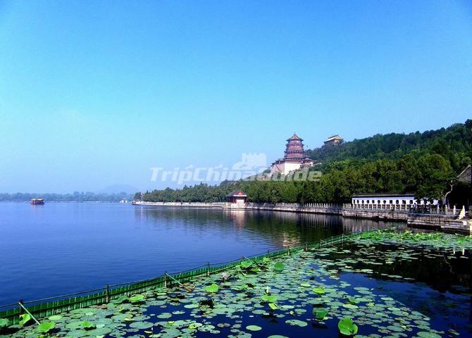 Summer Palace Attractive Scenery Beijing