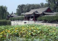 The Hall of Ample Good View in China Summer Palace