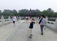 Tourists Visit Summer Palace China