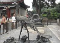 The Dragon & Phoenix Statues in Summer Palace Beijing