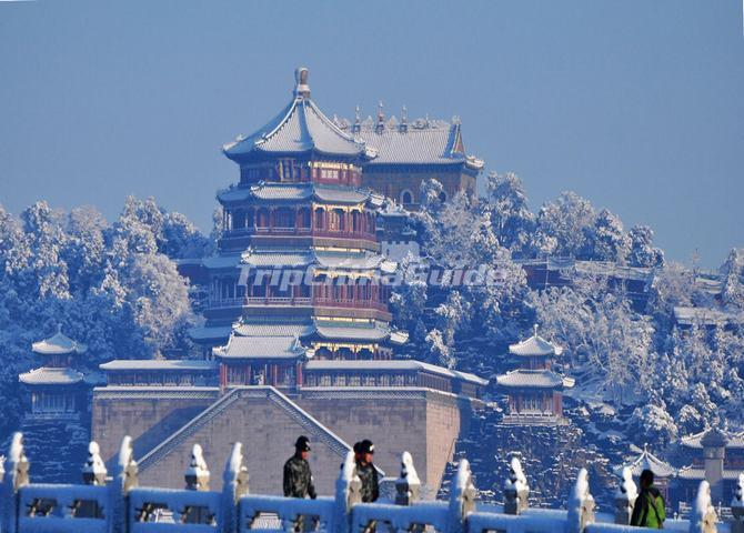 Summer Palace Winter Scenery